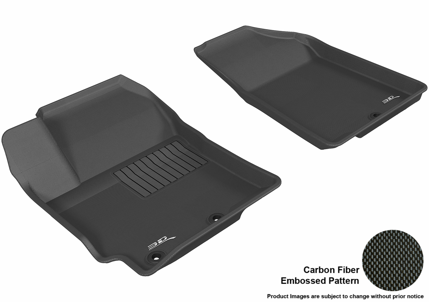 Rubber floor mats for kia rio - Image Is Loading Maxpider 3d Rubber Molded Floor Mat For Kia