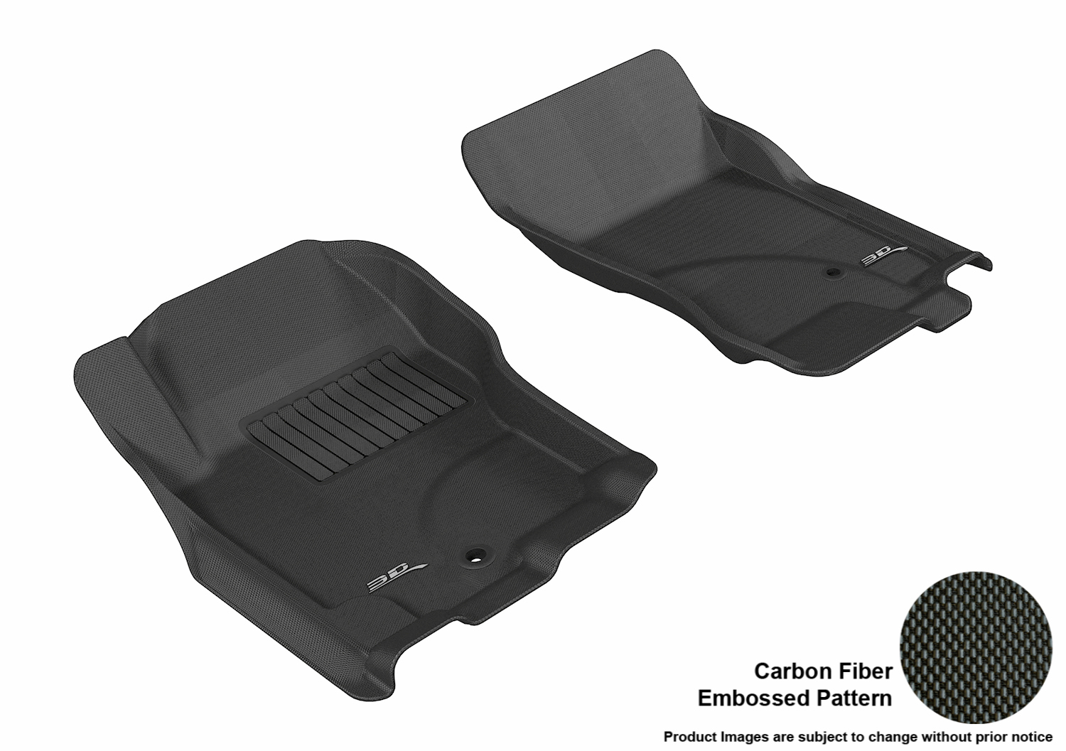 maxpider 3d rubber molded floor mat for nissan pathfinder
